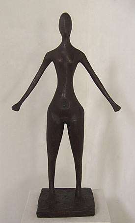 Figure with Arms Down