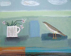 Angela Harding Morning Thrush