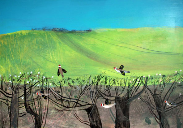 Goldfinch Hedge, Elaine Pamphilon