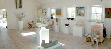 The Yew Tree Gallery, Morvah, St Ives, Cornwall - Inner Gallery